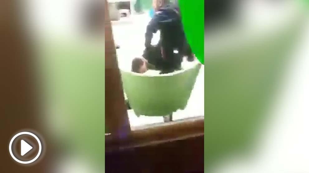 Vídeo del incidente en Vitoria.