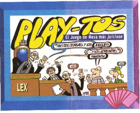 Portada del juego de mesa 'Playtos' de Manuela Carmena.