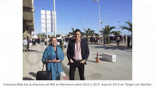 Sánchez fue observador de los 'demócratas' americanos en unas elecciones de Marruecos