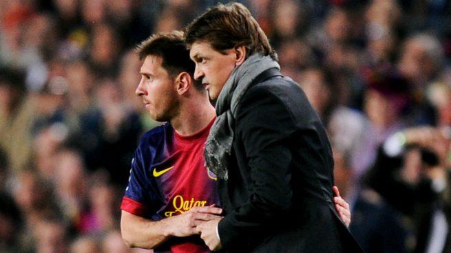 Tito Vilanova Leo Messi