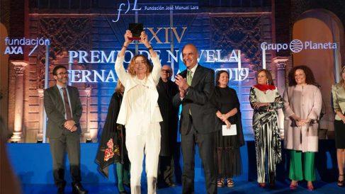 Ángela Becerra, premio Fernando Lara 2019. Foto: Europa Press.
