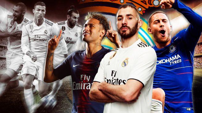 De la BBC a la BHN: otro tridente de ensueño para el Real Madrid