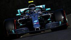 Bottas, en la clasificación del GP de Azerbaiyán. (Getty)