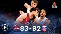 El CSKA gana al Baskonia. (EFE)