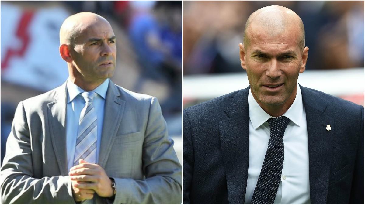 Paco Jémez y Zidane vuelven a verse las caras (Rayo Vallecano/Getty).