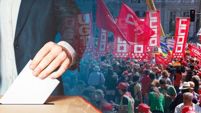 Del 'bipartidismo' al 'bisindicalismo': el 28-A marcará el tono de UGT y CCOO el 1 de mayo