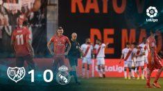 El Real Madrid perdió 1-0 en Vallecas ante el Rayo.