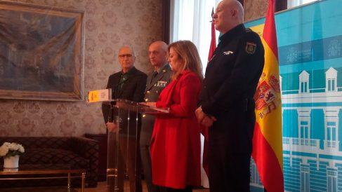 La delegada del Gobierno en Madrid, María Paz García Vera, informa acerca de la actualidad de las Elecciones Generales 2019