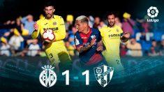 Villarreal y Huesca empatan. (EFE)