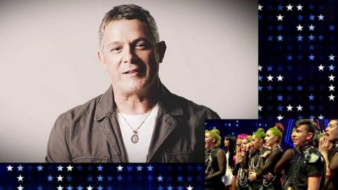 Alejandro Sanz ha aparecido en la final de 'Got Talent'