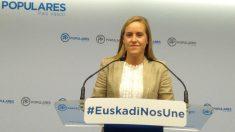 Amaya Fernández, secretaria genral del PP vasco