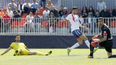 Imagen del partido entre el Cádiz y el Majadahonda (Cádiz Club de Fútbol)