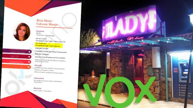 La candidata de Vox en Marbella fue «jefa de personal» del superprostíbulo de lujo Milady Palace