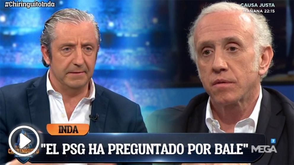 Inda adelantó en abril el interés del Madrid en colocar a Bale en el PSG