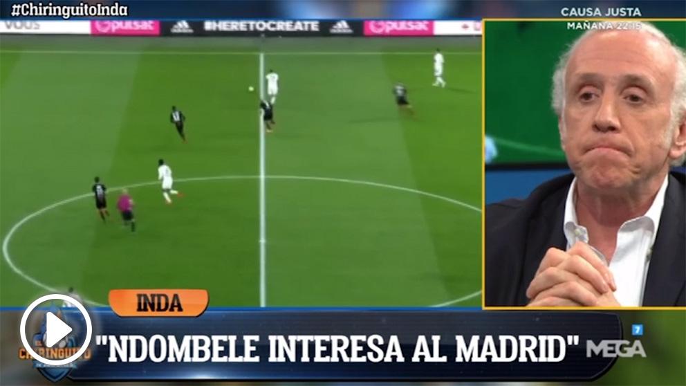 El Real Madrid se ha interesado por el futbolista del Olympique de Lyon.