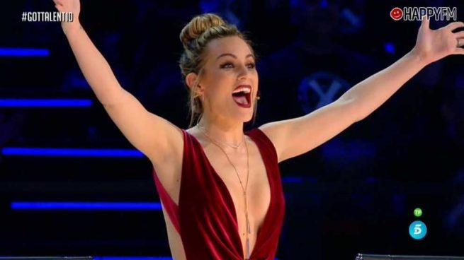 'Got Talent': Edurne, protagonista de una gran sorpresa para la audiencia