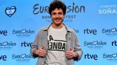 Miki Núñez, ganador de Operación Triunfo, representará a España en Eurovisión 2019 con 'La Venda'. Foto: Europa Press