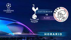 Tottenham – Ajax: partido de vuelta de semifinales de la Champions League.