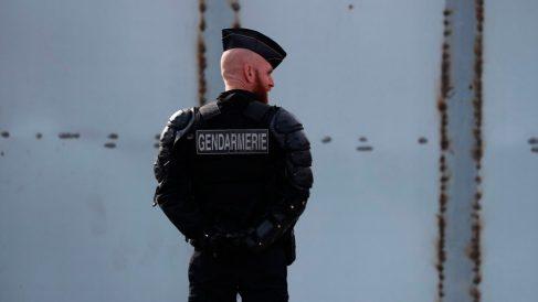 Un gendarme de la Policía francesa. Foto: AFP