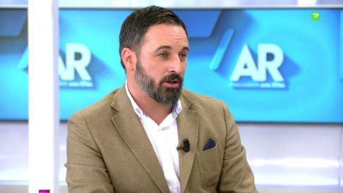 Santiago Abascal estará en 'El programa de Ana Rosa' analizando los resultados de las elecciones generales de 2019.