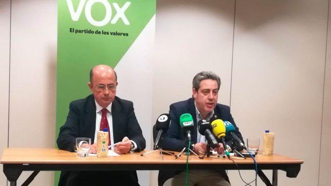 El candidato a la Presidencia de la Generalitat Valenciana por Vox y diputado electo, José María Llanos. Foto: Europa Press