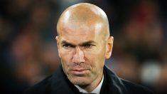 Zidane, serio en un partido reciente.