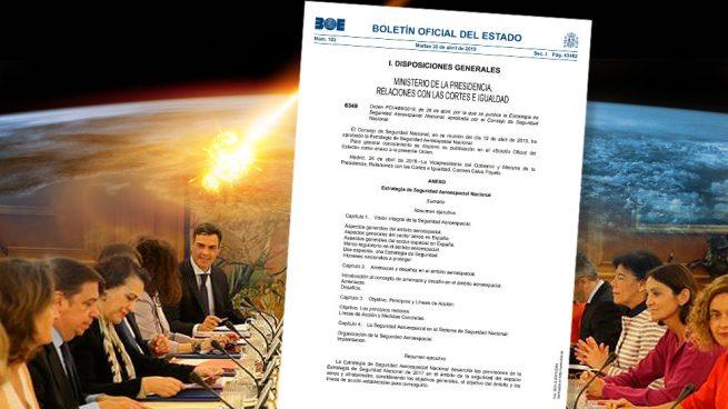 El Consejo de Seguridad Nacional alerta de la nueva amenaza sobre España: millones de meteoritos
