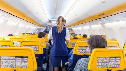 Trabajadores de Ryanair (Foto: iStock)