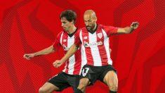 Ander Iturraspe y Mikel Rico (Athletic Club)