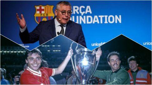Michael Robinson tiene cercanía tanto con el Liverpool como con el Barcelona.