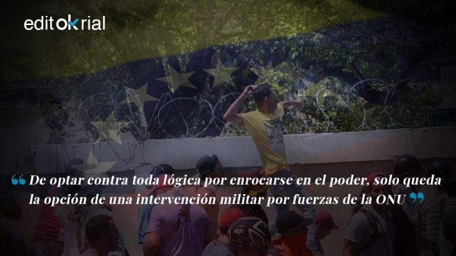 Fuerzas de la ONU deben intervenir en Venezuela