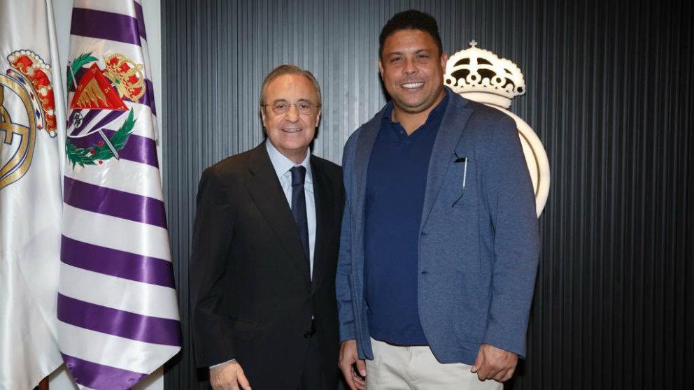 Florentino Pérez y Ronaldo Nazario (@Ronaldo)