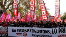 Los sindicatos celebran el Día del Trabajo este 1 de mayo.