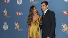 Iker Casillas y Sara Carbonero, en una gala. (Getty)