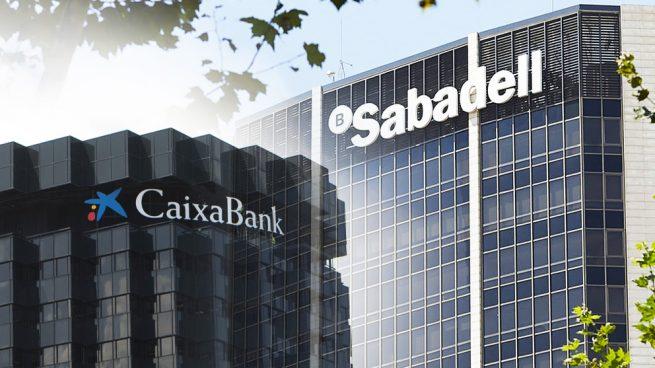 Sabadell y Caixabank obtienen la mejor rentabilidad por cliente de la banca en el primer trimestre
