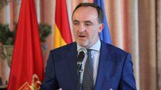 El candidato de Navarra Suma a la Presidencia del Gobierno foral, Javier Esparza. Foto: Europa Press