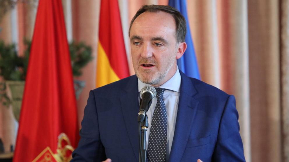 El líder de UPN y portavoz de Navarra Suma, Javier Esparza. (Foto: Europa Press)