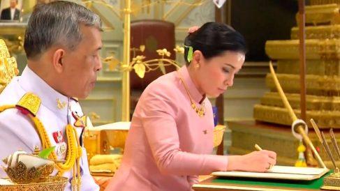El Rey de Tailandia se casa por cuarta vez. Foto: AFP