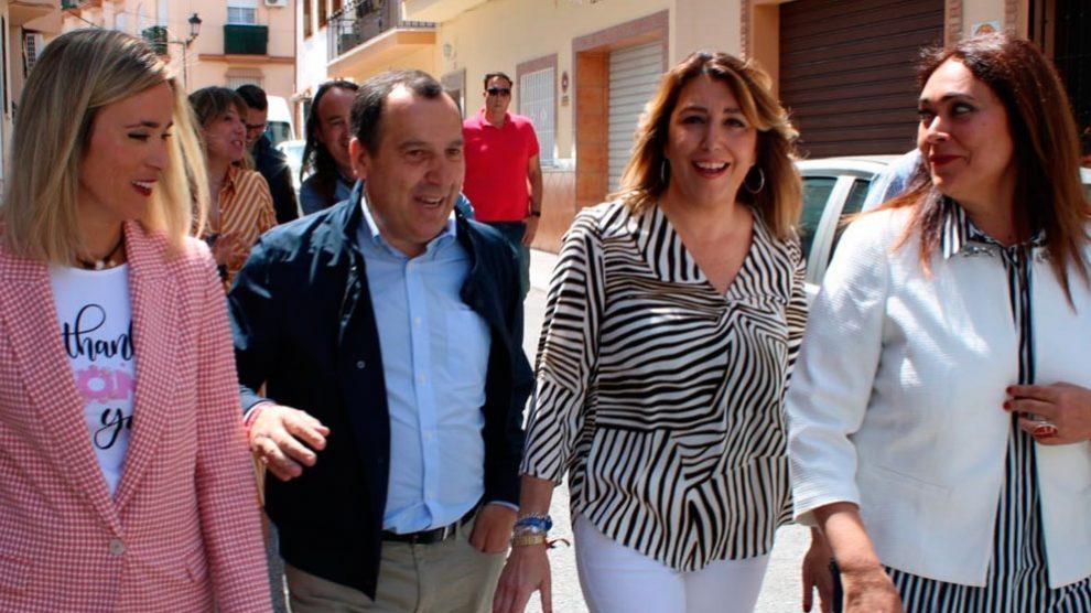 La secretaria general del PSOE-A, Susana Díaz. FOto: Europa Press