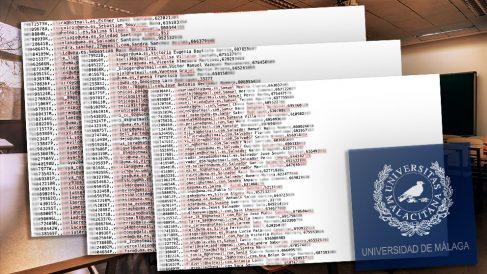 La identidades hackeadas en la Universidad de Málaga