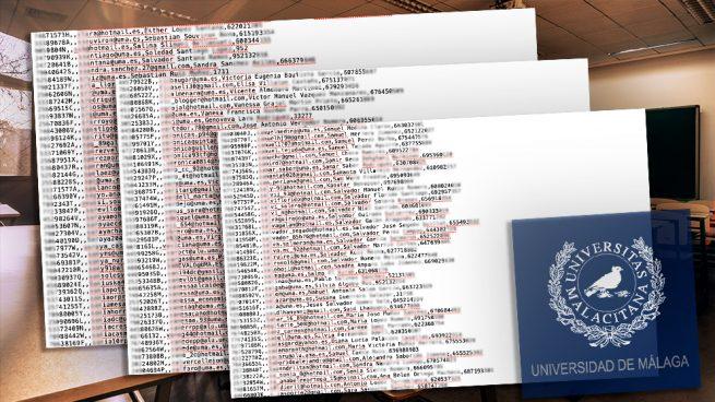 Un grupo de hackers roba los datos personales de 8.000 alumnos de la Universidad de Málaga
