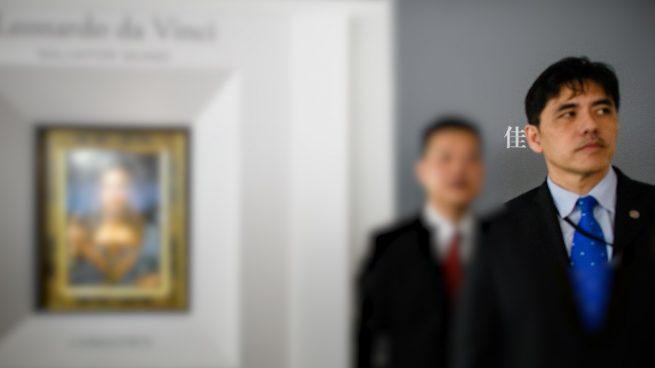 El ex agente de la CIA, Jerry Chun Shing Lee, que espera su condena tras admitir haber sido espía para China en una foto tomada en 2017 en una subasta de Christie's. Foto: AFP