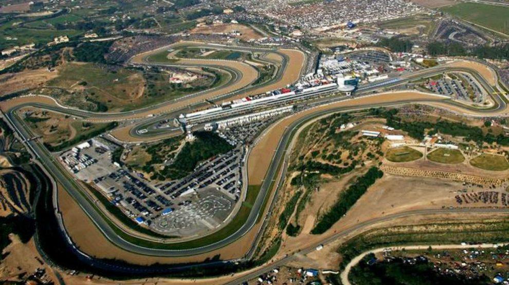 El circuito de Jerez, en vista aérea