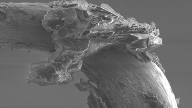 Detectan por primera vez restos de agua en la superficie de un asteroide