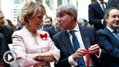 Esperanza Aguirre junto a Ángel Garrido en las celebraciones por el Dos de Mayo. Foto: Europa Press