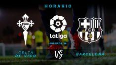 Celta de Vigo – Barcelona: partido de la jornada 36 de la Liga Santander.