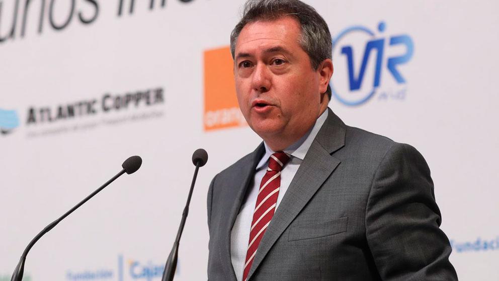 El alcalde de Sevilla, el socialista Juan Espadas (Foto: Europa Press).