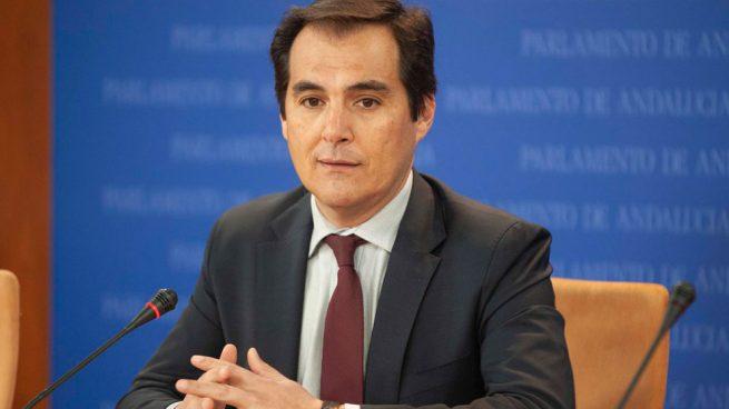 El portavoz del grupo parlamentario PP-A, José Antonio Nieto.