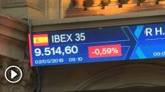 Ibex 35. Bolsa de Madrid.