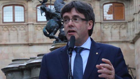 El ex presidente de Cataluña, Carles Puigdemont.